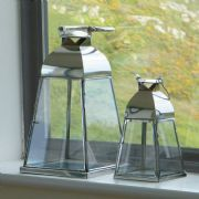 Polished Steel Lanterns
